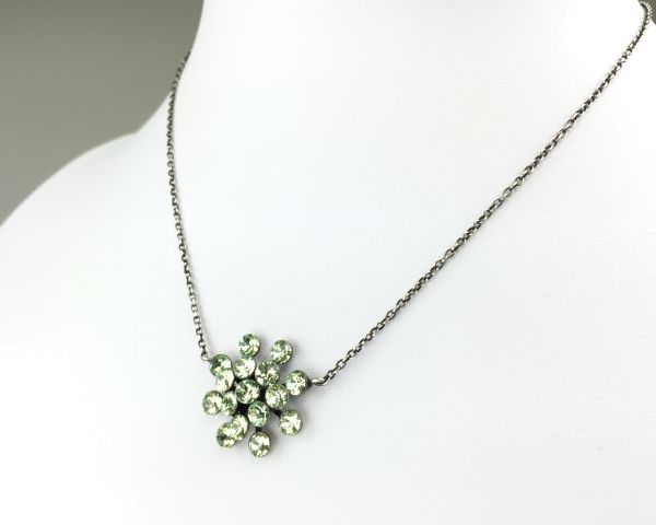 Konplott Magic Fireball Halskette mit Anhänger in chrysolite, hellgrün #5450527612098