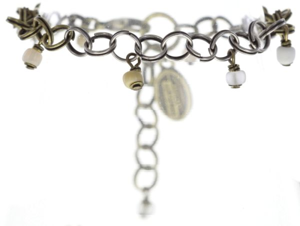 Konplott Jumping Rings weißes Armband verschließbar #5450543648705