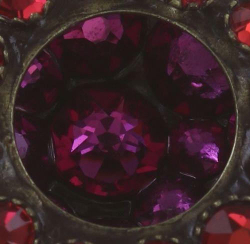Konplott Inside Out Ohrclip Größe S in scarlet rot #5450543675930