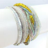 Konplott Petit Glamour d´ Afrique buntes Armband elastisch #5450527327206