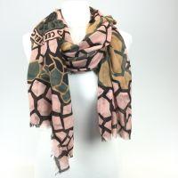 Konplott The Big 25 Halstuch in rosa/braun/grün #5450543506494